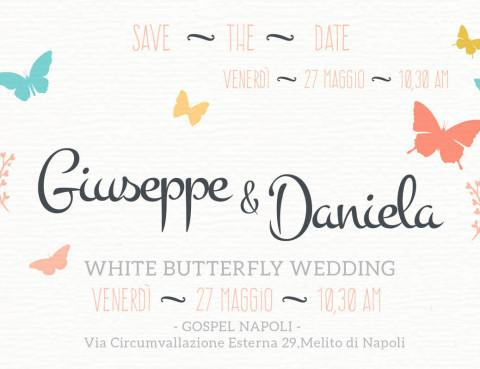 Giuseppe e Daniela Sposi Gospel Napoli 27 Maggio ore 10:30
