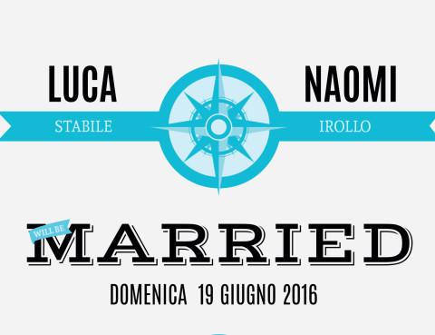 Luca Stabile & Naomi Irollo Gospel Wedding al Gospel Napoli Domenica 19 Giugno ore 11:00
